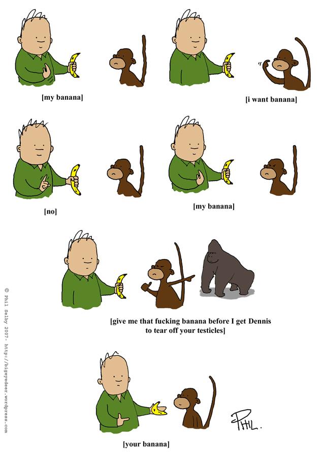 Cartoon monkey sex